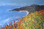 Sharon Withers Costa Rica View landscape painting for sale