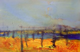 Sharon Withers Sri Lanka landscape painting for sale
