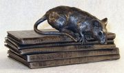 Suzie Marsh Tomasina On Books mouse sculpture for sale