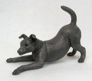 Suzie Marsh Sophie Jack Russell bronze dog art