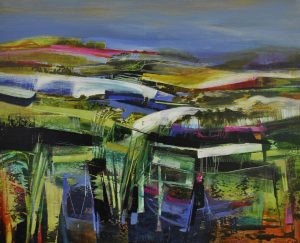 'New Horizons' Acrylic on canvas 80x100cm