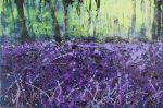 Sharon Withers A Shaft Of Light floral woods painting for sale