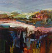 Celia Wilkinson Inner Warmth buy abstract landscape artwork