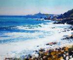 Richard Thorn Sardinia mediterranean painting for sale