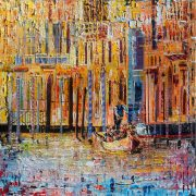 Leonard Dobson Venice Light abstract italian cityscape