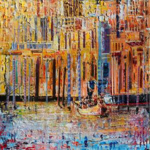 Leonard Dobson Venice Light abstract italian cityscape