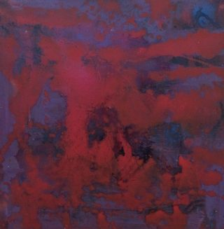 Sharon Withers Abstract I moody abstract oil painting for sale