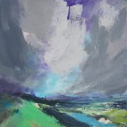 Andrew Kinmont Marford Hill abstract landscape for sale