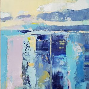 Andrew Kinmont Sea Jewel buy abstract blue painting