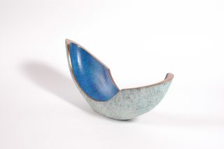 Philip Hearsey Lapping II curved bronze sculpture for sale