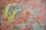 Paul Fearn Luminous Beings II framed copper koi art for sale