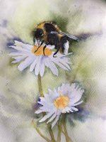 Bee painting Frances Jordan