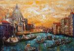 Leonard Dobson Church Santa Maria Della Salute art for sale