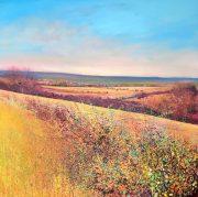 John Connolly Autumn Hedges landscape painting for sale