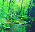 Richard Thorn The Quiet Stream painting for sale