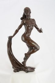 Ronald Cameron Guida female dancer sculpture for sale