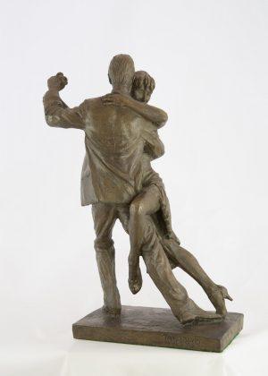 Malcolm West Tango Flavio dancing couple sculpture for sale