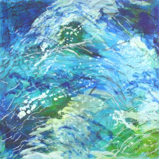Sharon Withers Reflections of Light abstract water art for sale