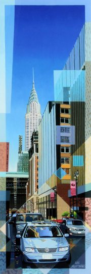 Les Matthews Chrysler Building new york city artwork for sale