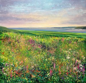 John Connolly From The Tinners Way meadow painting for sale