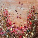 Tracey Thornton Coffee, Cake & Cream pink painting