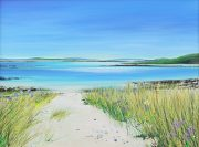 John Connolly Cool breeze on Tresco cornish painting for sale