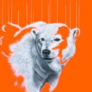 Louise McNaught Northern Light polar bear artwork for sale