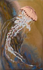 Paul Fearn The Sting jellyfish wall art for sale