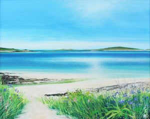 John Connolly Tresco Summer Light cornish seascape for sale