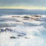Frances Jordan Cornish Rollers I original seascape art for sale