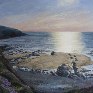 Grace Ellen Sea Glitter original seascape painting for sale
