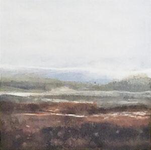 Carol Grant Study I unframed subtle abstract landscape art for sale