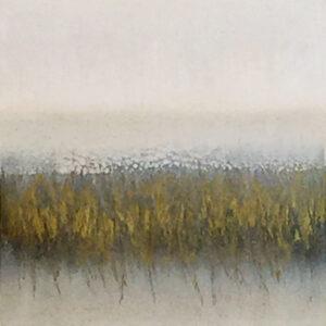 Carol Grant Study III unframed subtle abstract landscape art for sale