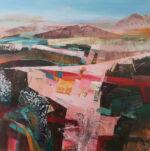 Celia Wilkinson Distant Memories modern abstract art for sale