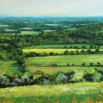 Grace Ellen Spring Light Boxhill surrey landscape art for sale