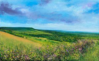 John Connolly Box Hill surrey landscape painting for sale