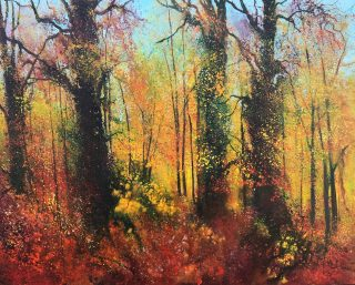 John Connolly That Time of Year autumn painting for sale