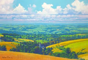 Richard Thorn Towards Summers Ending painting for sale