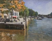 Andrew Hird Autumn In The Air Richmond Riverside art for sale