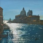 Howard Birchmore Towards Salute venice painting for sale