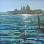 Howard Birchmore Venice Afternoon Sun italy painting for sale