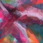 Jane Wachman Underground Pathways II abstract art for sale