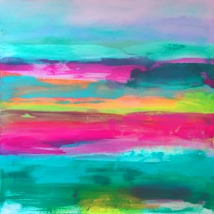 Jane Wachman The Downs abstract colour artwork for sale