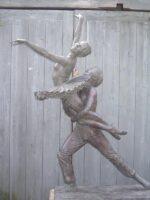 Malcolm West Corsair, Pas De Deux dancers sculpture for sale
