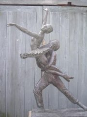 Malcolm West Corsair, Pas De Deux dancers sculpture for sale