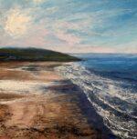 Grace Ellen Light Swell Croyde devon seascape art for sale