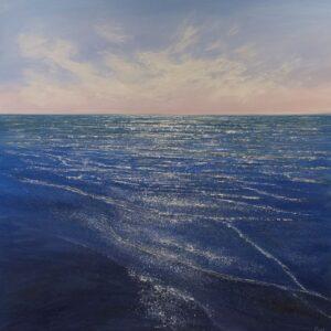 Grace Ellen Shimmering Tide Wittering sussex painting for sale