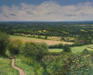 Grace Ellen Summer Is Here Surrey Hills art for sale