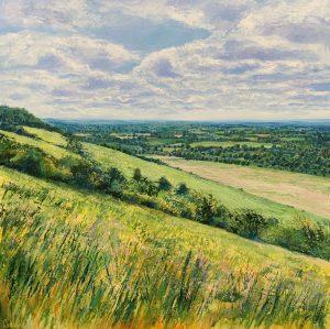 Grace Ellen Wildflowers Boxhill surrey hills art for sale