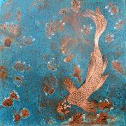Paul Fearn Autumn Leaves copper wall art for sale